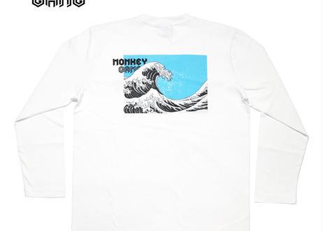 公式ステッカー付 モンキーギャング ロングスリーブTシャツ  G スパシャン M L XL XXL  洗車 SPASHAN  MONKEY GANG
