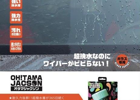 公式ステッカー付 スパシャン オタマジャクソン OH!TAMAJACSON 超耐久 フッ素コート 撥水剤 ガラス専用 SPASHAN