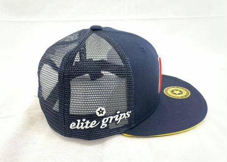 公式ステッカー付 SPASHAN × HITMAN CAP ネイビー スパシャン × ヒットマンキャップのコラボ帽子