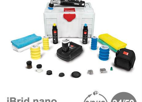 スパシャン ルペス ビッグフット ナノ ショートサイズ HR81M/DLP(2) iBrid nano SHORT NECK BigFoot カーケア 電動 ダブルアクション ポリッシャー