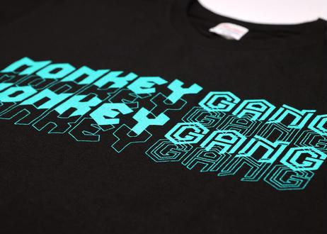 公式ステッカー付 モンキーギャング Tシャツ D スパシャン M L XL XXL  洗車 SPASHAN  MONKEY GANG