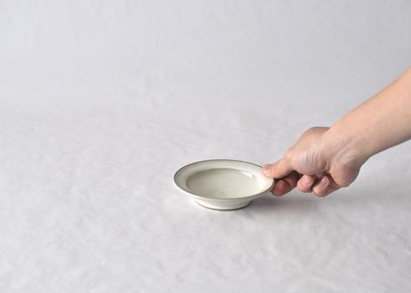白飛鉋リム小皿φ12