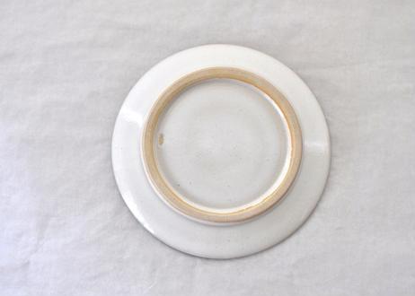 白飛鉋平皿8寸