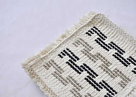 結び織りノッティング(でこぼこ)