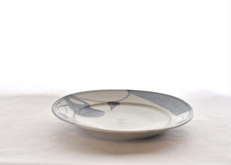 蓮葉紋8寸皿