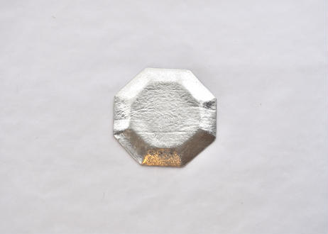 純錫八角皿