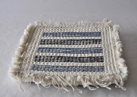 結び織りノッティング(ボーダー)