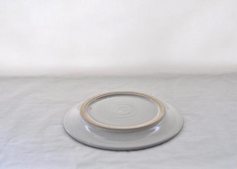 白飛鉋平皿7寸