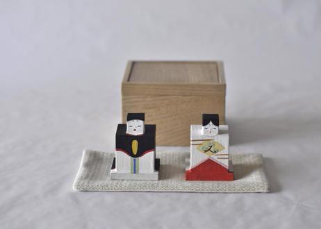 嘉久雛 / かくびな *木箱・敷布セット