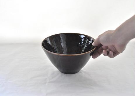 黒飛鉋 大鉢