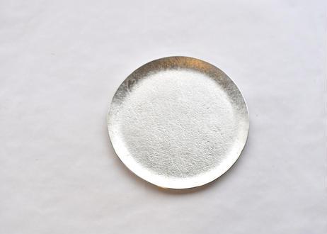 純錫丸皿 5寸