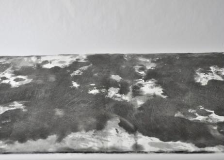 因州手漉和紙 3枚セット【墨染め】
