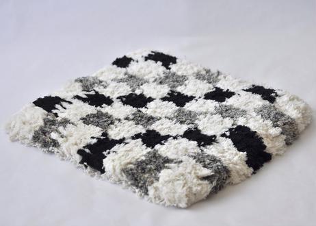 結び織りノッティング(格子)