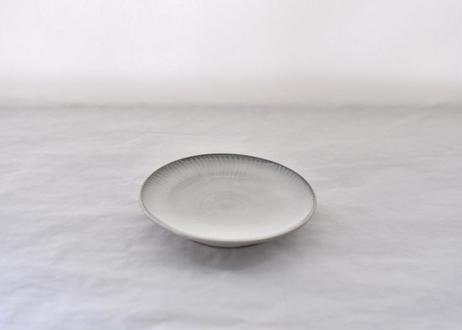 白飛鉋平皿5寸