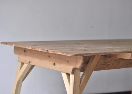 小屋テーブル 幅120cm x 奥行70cm
