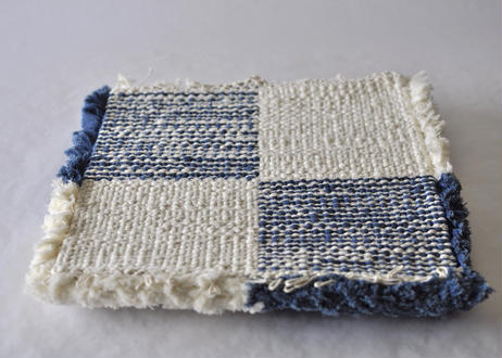 結び織りノッティング(市松)