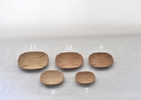 変形小皿 大小5枚セット