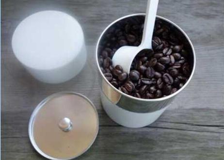 CFY-GS4  ブリキ コーヒーキャニスター