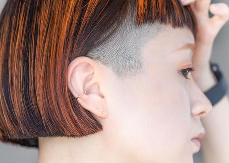 DOT Diamond ear cuff