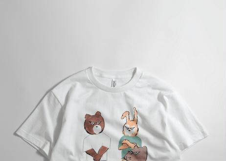 [キャンセル分] 猪原秀陽  We'reバッドアニマルズ Tシャツ 漫画の絵