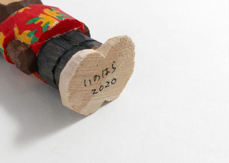 猪原秀陽 木彫りのバッドアニマルズ 夏バージョン フィギュア 3体セット