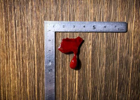 「漆は木の血」 自然と偶然から産まれたバッジ  第四号