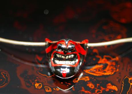サムライ マスク ペンダント 歌舞伎
