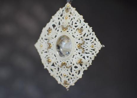 ホワイトガーデンクオーツ(ミャンマー産)/ペンダント
