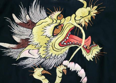 "TAILOR TOYO テーラー東洋スカジャン ACETATE SOUVENIR JACKET AGING MODEL""DRAGON HEAD"" × ""EAGLE"""