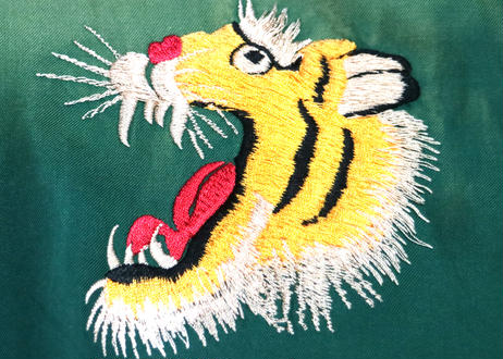 "TAILOR TOYO テーラー東洋スカジャン ACETATE SOUVENIR JACKET AGING MODEL""ROARING TIGER"" × ""EAGLE & DRAGON"""