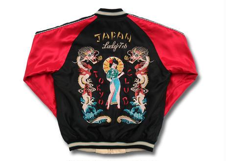 "TAILOR TOYO テーラー東洋 ACETATE SOUVENIR JACKET""TOKYO CLUB""X""WHITE EAGLE""横須賀MIKASA"