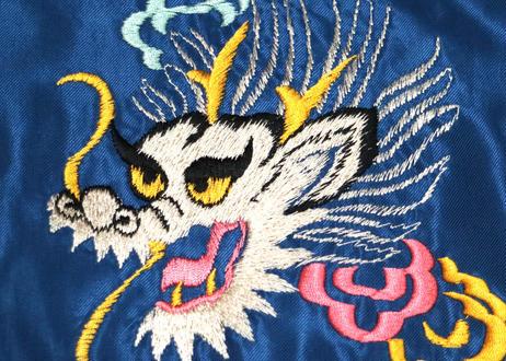 "TAILOR TOYO テーラー東洋 ACETATE SOUVENIR JACKET""DRAGON"" × ""BLACK EAGLE"""