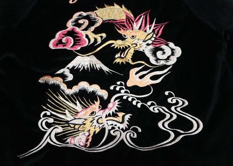 "TAILOR TOYO テーラー東洋 VELVETEEN SOUVENIR JACKET ""DUELLING DRAGONS & LANDSCAPE"""