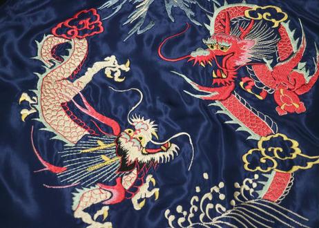 "TAILOR TOYO テーラー東洋 ACETATE SOUVENIR JACKET ""WHITE EAGLE"" &""DUELLING DRAGONS"""