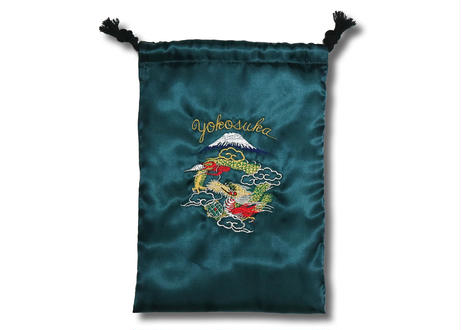 MIKASAオリジナル スカジャン巾着 日本製 Drawstring bag Made in JAPAN