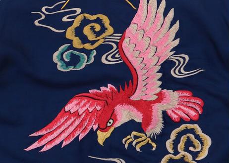 "TAILOR TOYO テーラー東洋スカジャン ACETATE SOUVENIR JACKET AGING MODEL""GOLD DRAGON×""RED EAGLE""横須賀MIKASA"