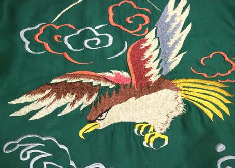 "TAILOR TOYO テーラー東洋スカジャン ACETATE SOUVENIR JACKET AGING MODEL""EAGLE""×""TIGER"""