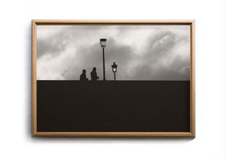 "Photo w/ frame ""White Bridge"" by Seiichi Hishikawa"