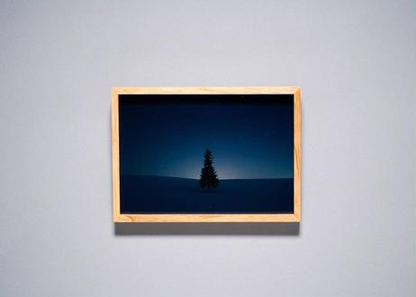 Framed photo by Tabi suru Suzuki No.11 - Biei, Japan 旅する鈴木 写真作品(S)