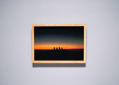 Framed photo by Tabi suru Suzuki No.07 - Easter Island, Chile 旅する鈴木 写真作品(S)