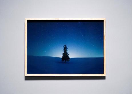 Framed photo by Tabi suru Suzuki No.001 - Biei, Japan 旅する鈴木 写真作品(M)