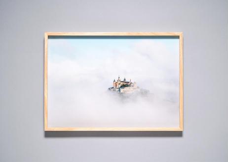 Framed photo by Tabi suru Suzuki No.006 - Hohenzollern Castle, Germany 旅する鈴木 写真作品(M)