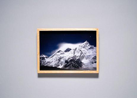 Framed photo by Tabi suru Suzuki No.10 - Everest, Nepal 旅する鈴木 写真作品(S)