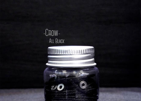 The String Bottle -Crow- 5 60cm Silky Strings & 3 Metal Bearings