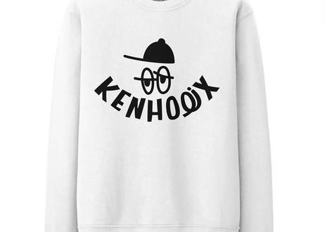 WHT Label Logo Sweatshirt -White-