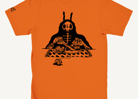 S.O.S. (Snack Of Skull) Tee -Orange-