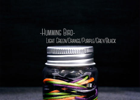 The String Bottle -Humming Bird- 5 60cm Silky Strings & 3 Metal Bearings
