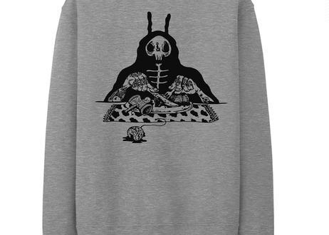 S.O.S. Crewneck Sweatshirt -Gray-