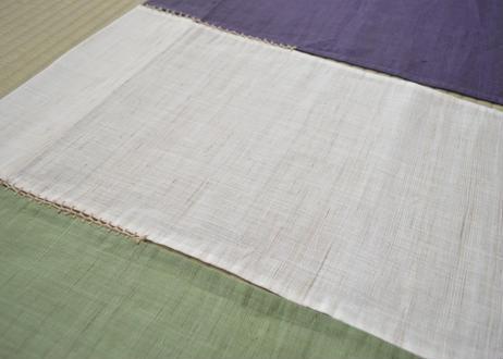 麻のれん 緑・生成り・紫 100センチ
