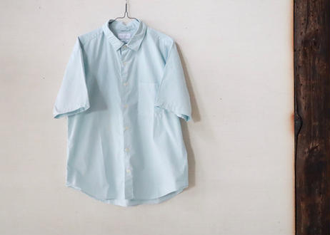 MANUAL ALPHABET / Loose Fit Regular collar shirt